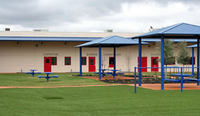 Karnes Detention Center, Texas. Photo: ICE.gov