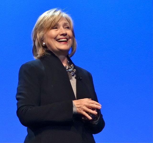 Hillary Clinton in 2014, courtesy of Wikimedia Commons user Steve Jurvetson.